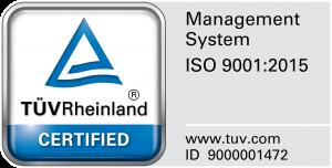 Tormáximos - TUV Rheinland Certified